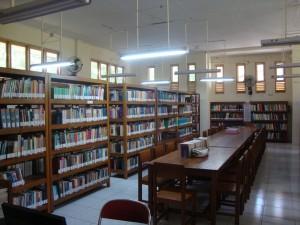 De bibliotheek van UKIM januari 2016